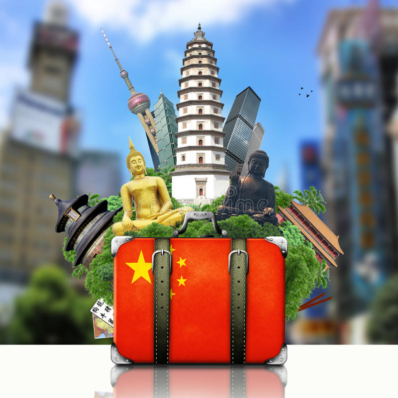 Marcos de China, China foto de stock