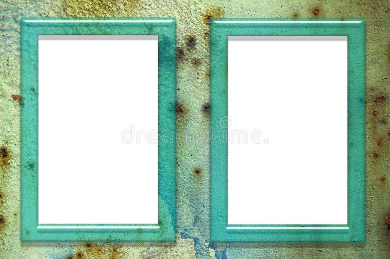 Marcos de cristal imagen de archivo imagen de verde 24299437 - Marcos de cristal ...