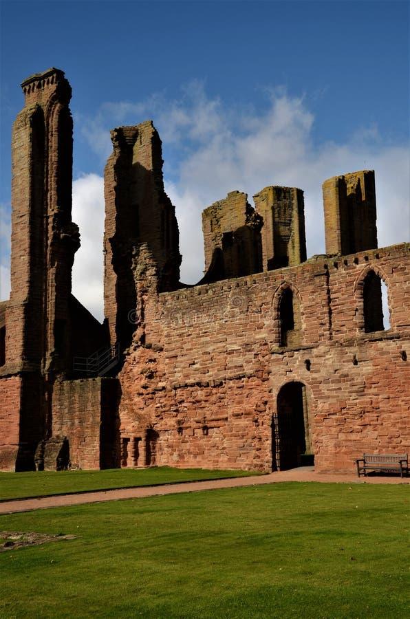 Marcos de Escócia - a abadia de Arbroath fotografia de stock