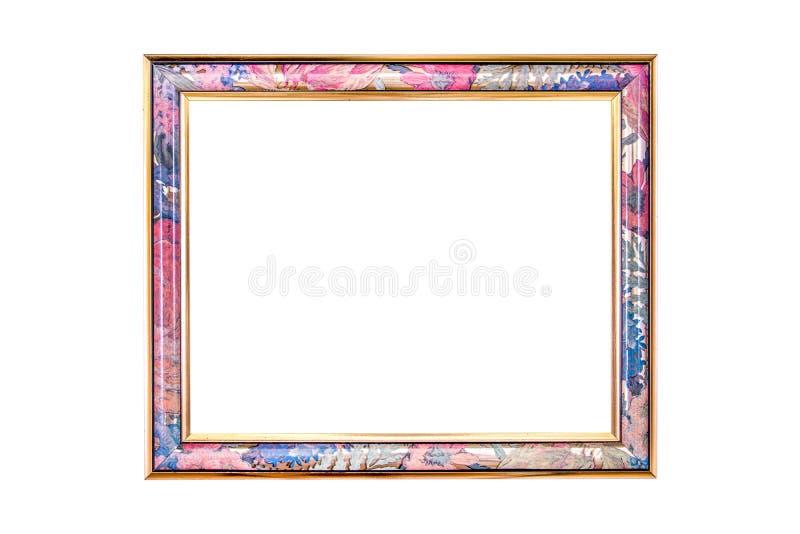 Marcos de la foto aislados en el fondo blanco Marco colorido aislado en el fondo blanco El marco del multicolor aisló ilustración del vector