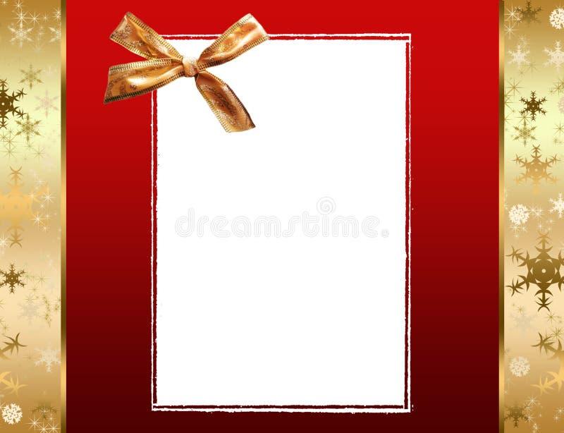 Marcos de la Navidad stock de ilustración