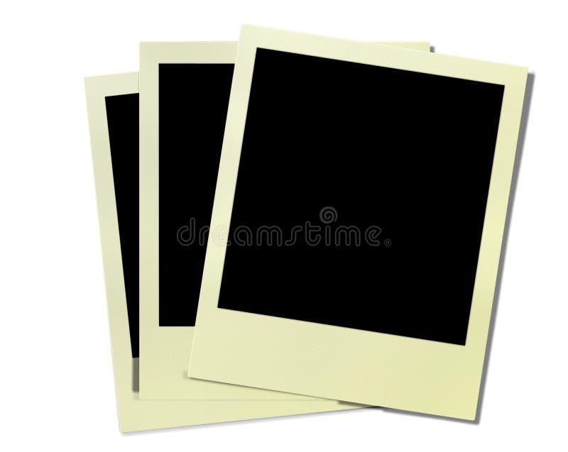 Marcos de la polaroid de la vendimia imagen de archivo libre de regalías