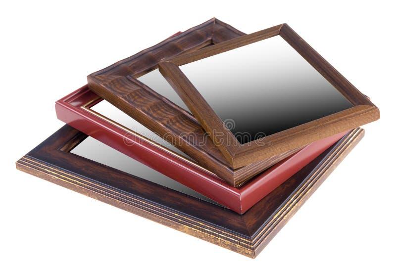 Marcos de madera imágenes de archivo libres de regalías