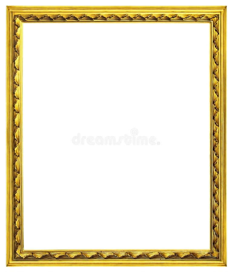 Marcos de madera dorados imagen de archivo imagen de for Marcos de fotos dorados