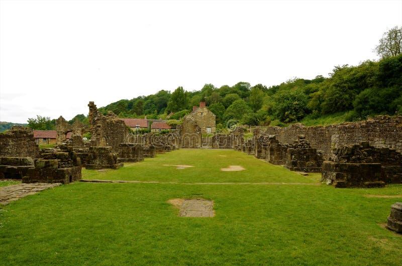 Marcos de North Yorkshire - abadia de Rievaulx imagem de stock