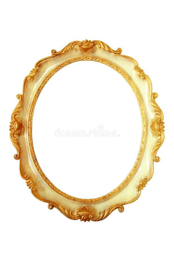 Marcos De Oro Ovales Del Color Imagen de archivo - Imagen de clásico ...