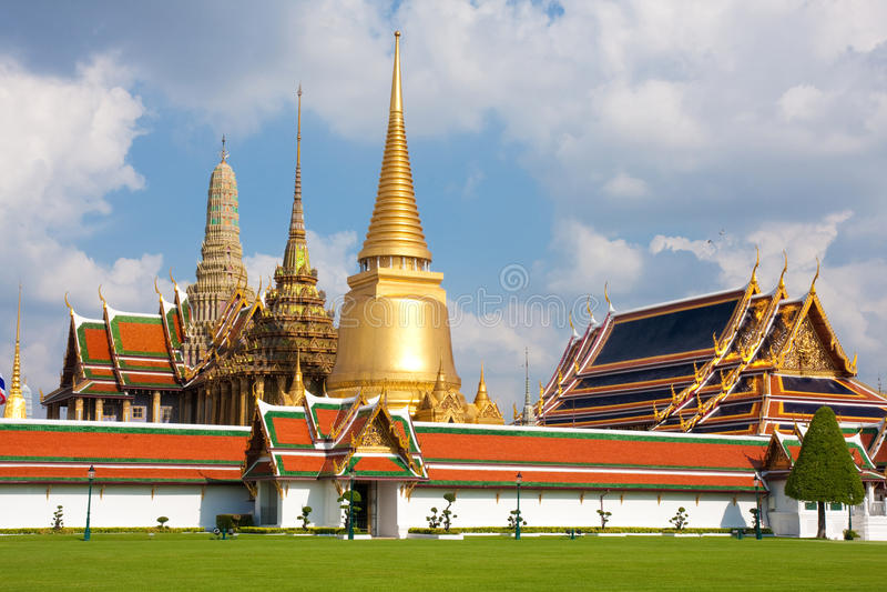 Marcos de Tailândia foto de stock royalty free