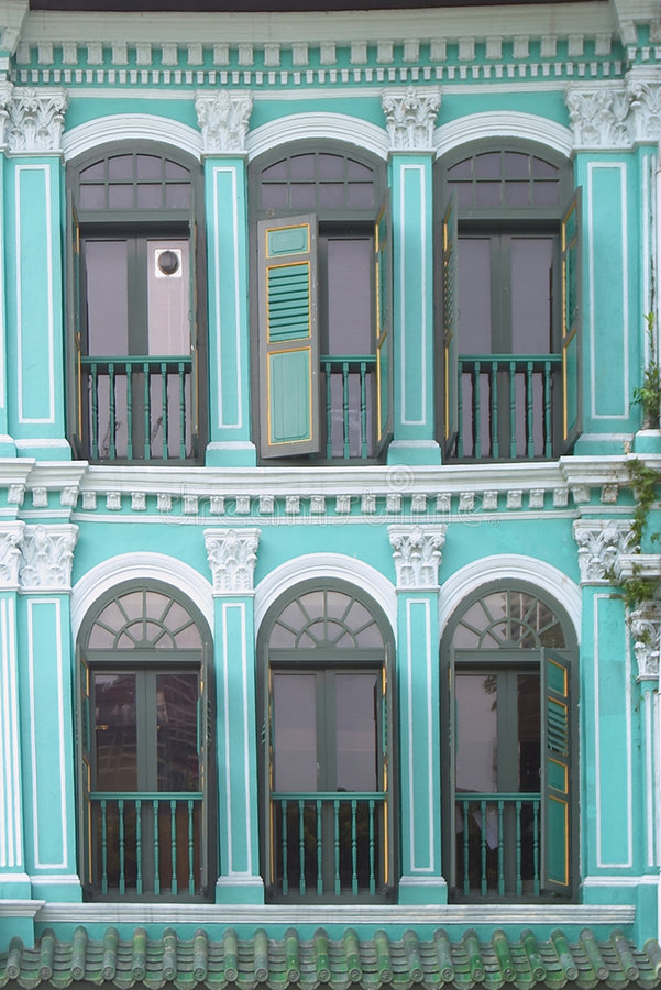 Marcos de ventana foto de archivo