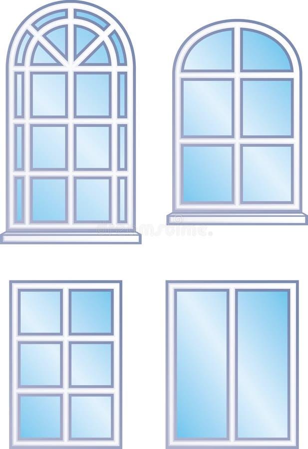 Marcos de ventana (vector) libre illustration