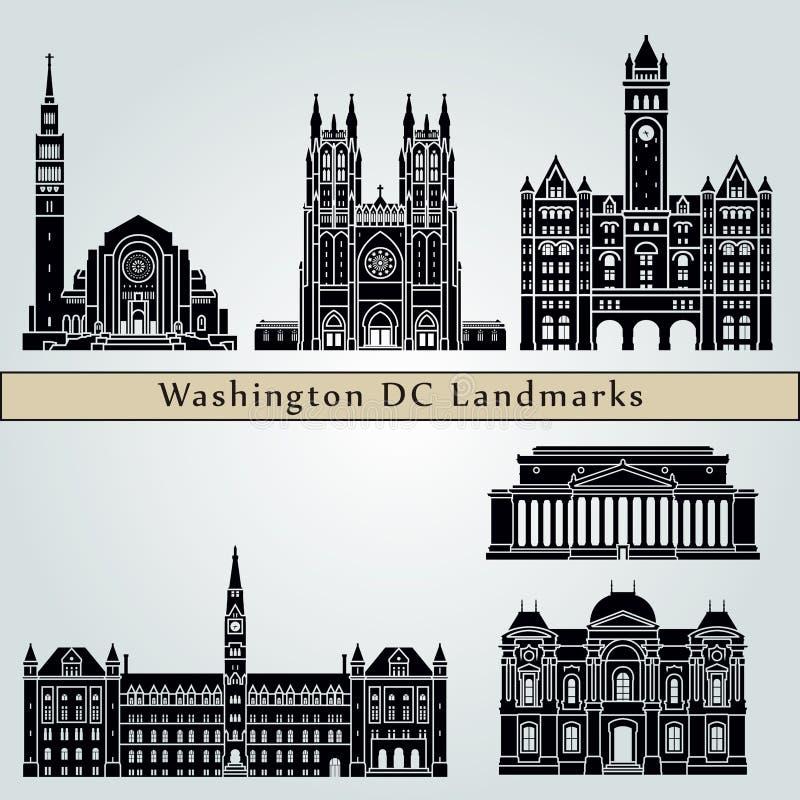 Marcos de Washington V2 ilustração do vetor
