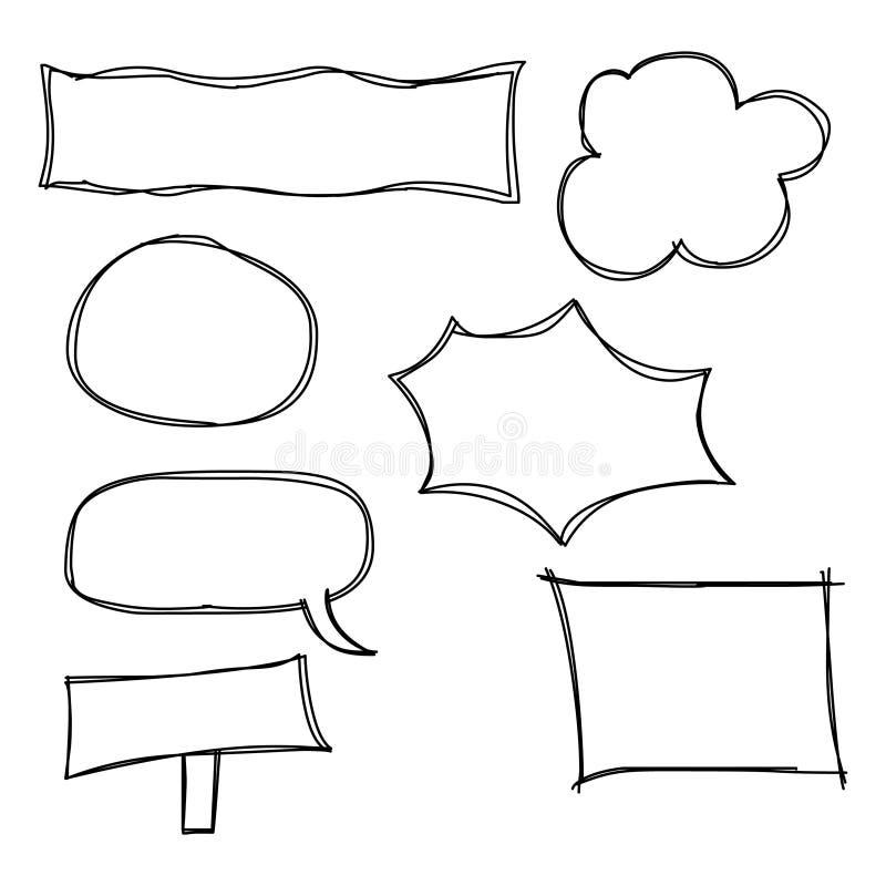 Marcos Del Doodle Y Burbujas Del Discurso La Burbuja Del Discurso ...