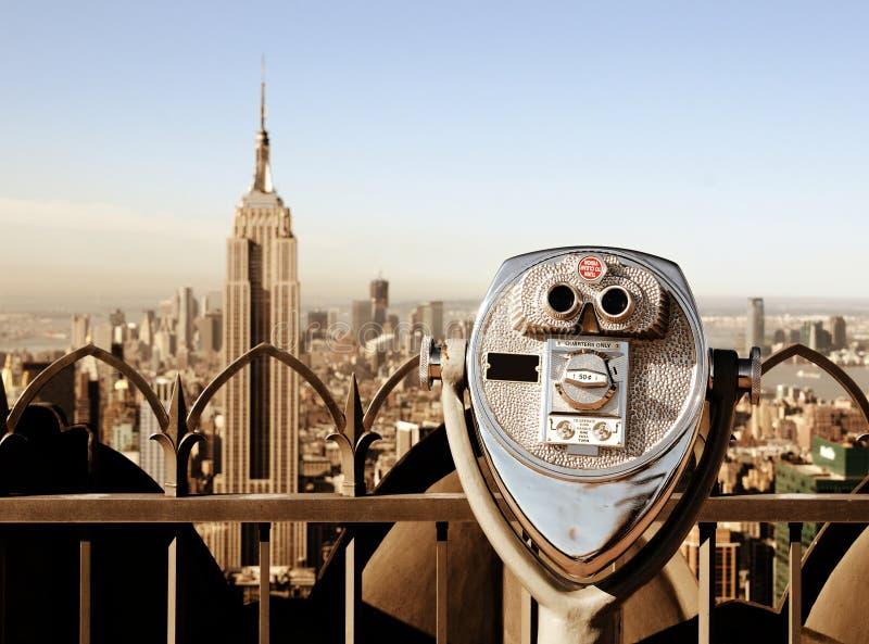 Marcos em New York City fotos de stock