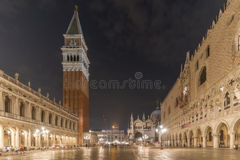 Marcovierkant van San bij nacht stock fotografie