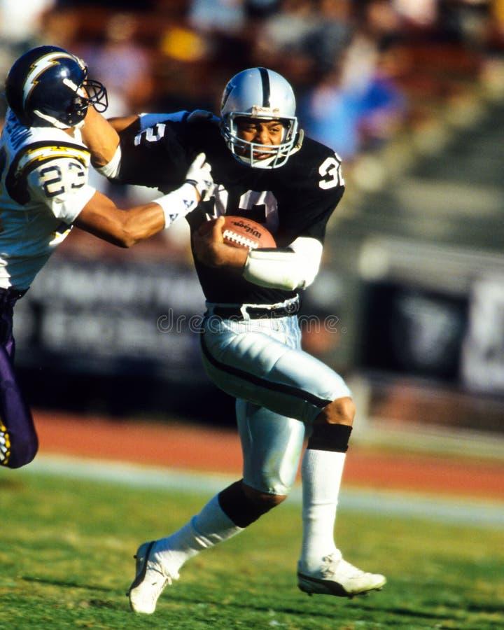 Marcus Allen Oakland Raiders imagens de stock