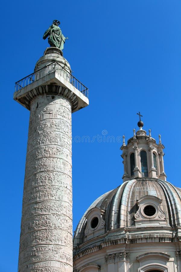 Marcus Aurelius Column royalty free stock photography