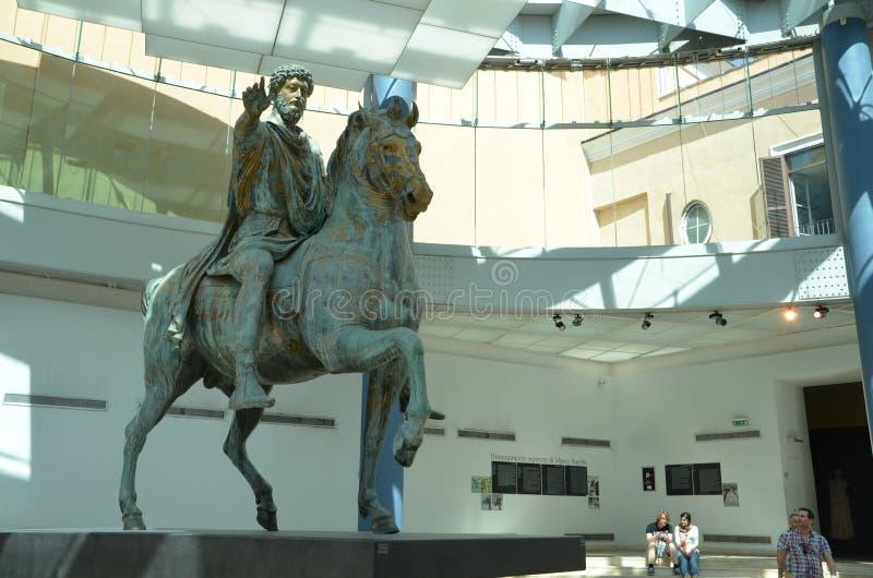 Marcus Aurelius Emperor foto de stock