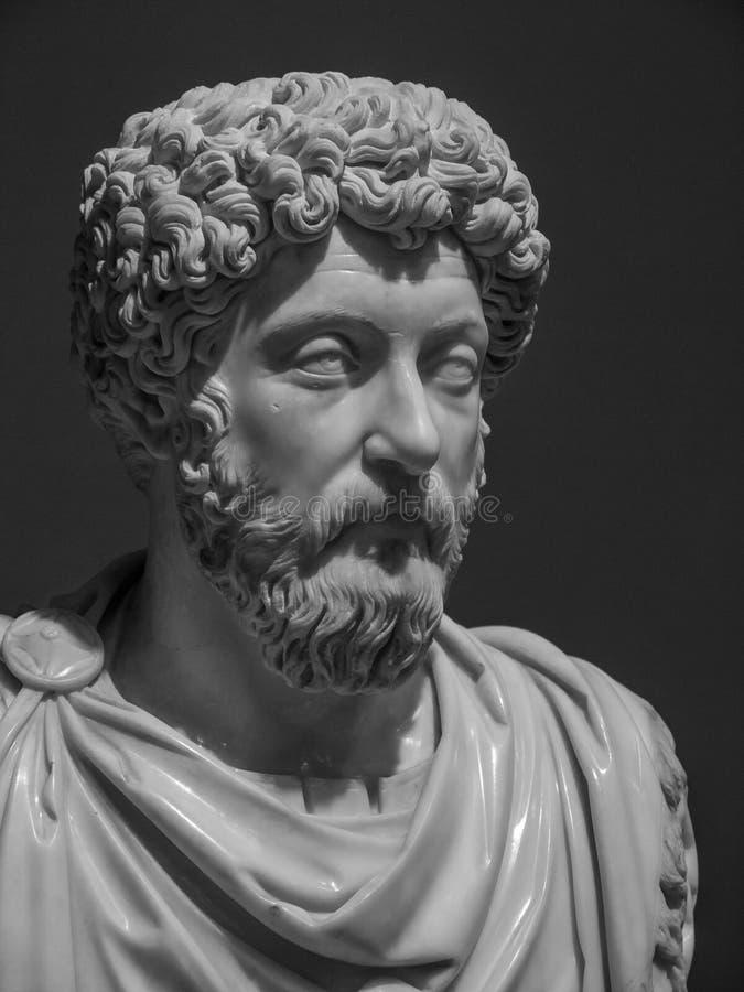 Free Marcus Aurelius Ephesus Marble Bust Royalty Free Stock Image - 166727356