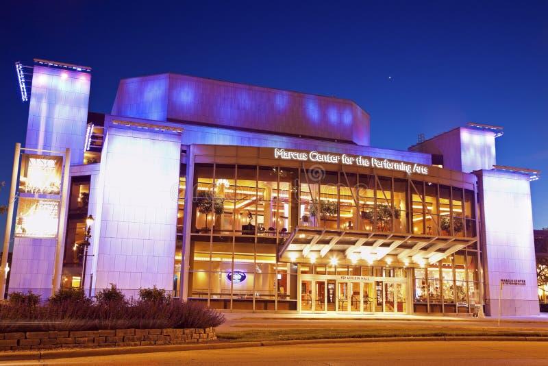 Marcus Center royalty-vrije stock afbeeldingen