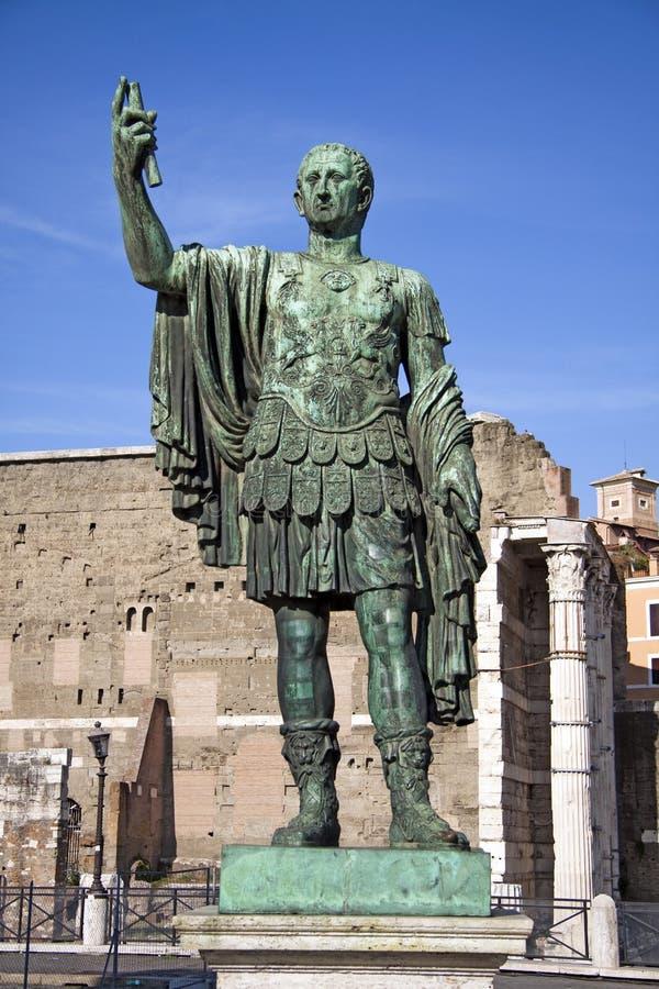 Marcus Cocceius Nerva Caesar Augustus imagens de stock royalty free