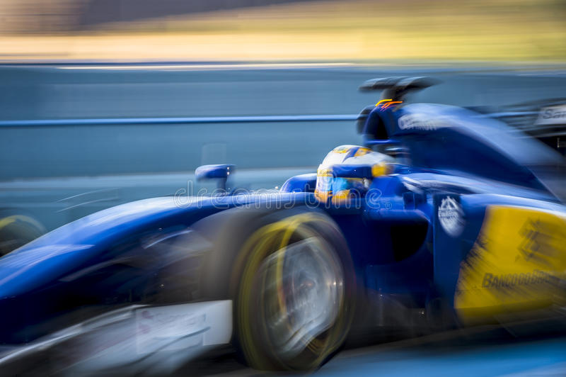 Marcus Ericsson Jeres 2015 image libre de droits