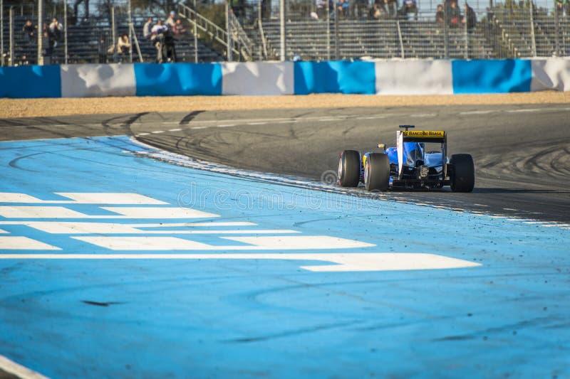 Marcus Ericsson Jeres 2015 image stock