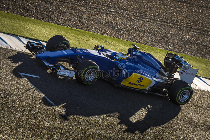 Marcus Ericsson Jeres 2015 images stock