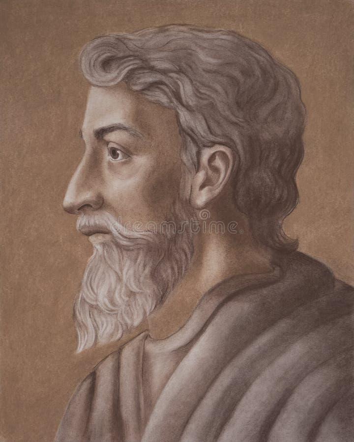 Marcus Terentius Varro ένας αρχαίοι ρωμαϊκοί μελετητής και ένας συγγραφέας Επίσης γνωστός ως Varro Reatinus στοκ εικόνες με δικαίωμα ελεύθερης χρήσης