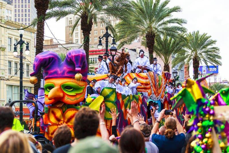 Mard Gras New Orleans imagen de archivo libre de regalías