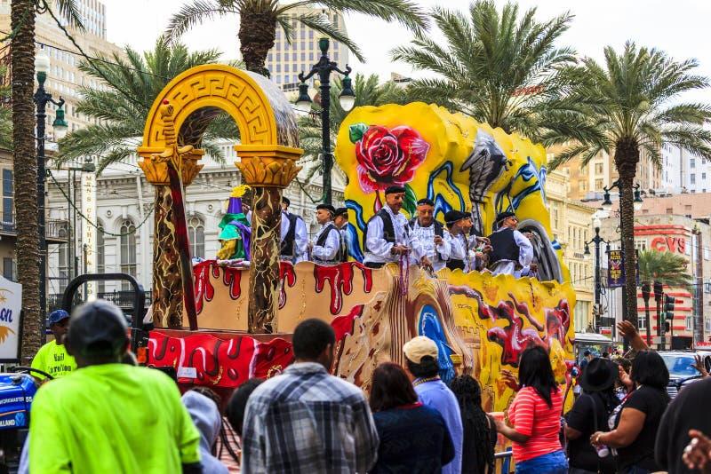 Mard Gras Nowy Orlean obrazy royalty free