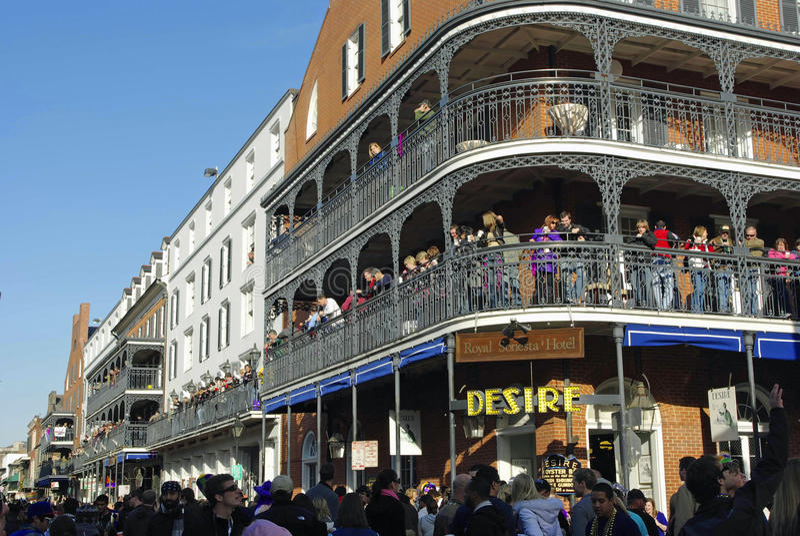 Mardi gras 2010 de la Nouvelle-Orléans image libre de droits