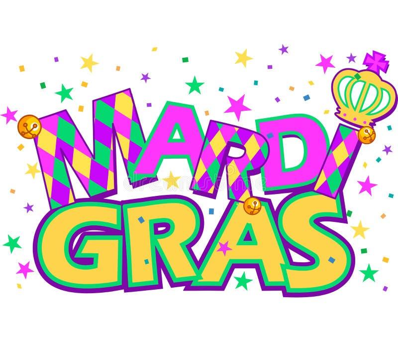 Mardi Gras ilustração stock