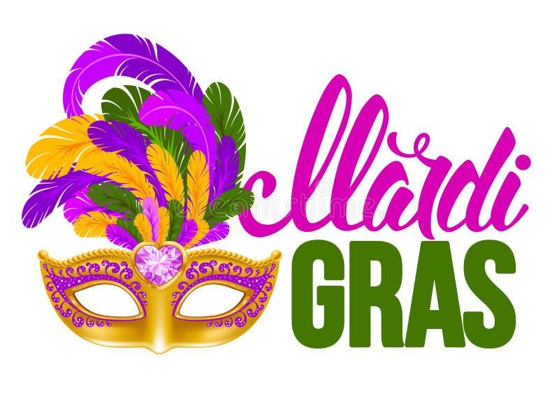 Mardi Gras stock de ilustración