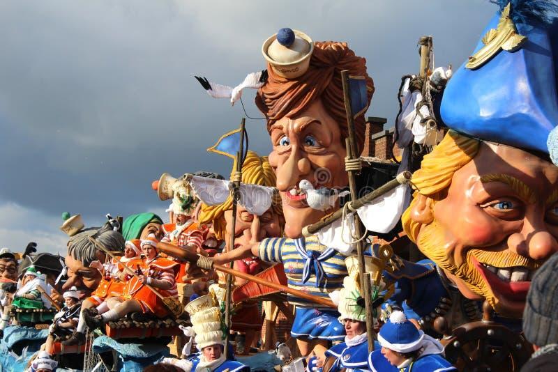 Mardi Gras Crazy Faces foto de archivo libre de regalías