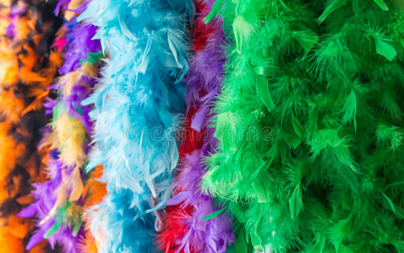 Mardi Gras decorations in New Orleans, LA.  stock photos