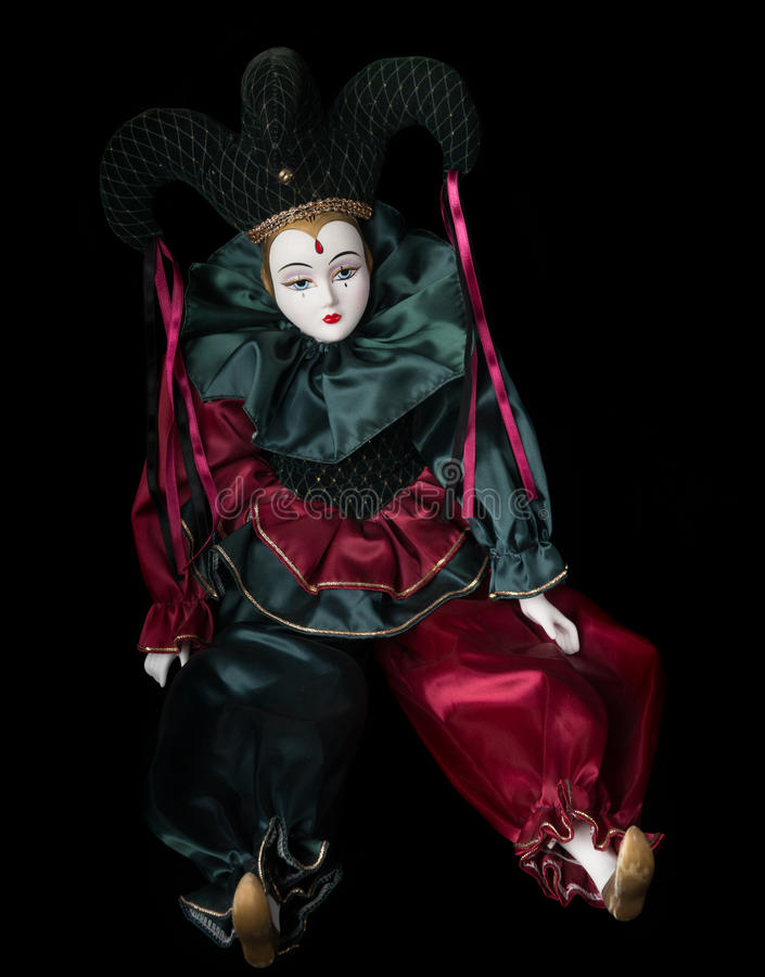 Mardi Gras Doll fotos de stock