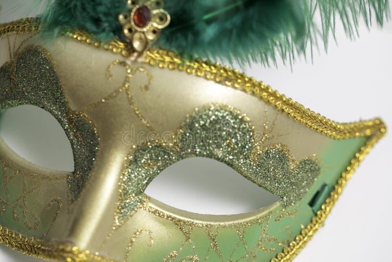 Mardi Gras Mask stock afbeelding