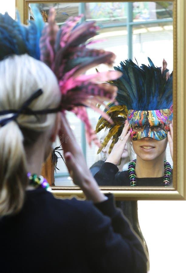 Download Mardi Gras Mask stock image. Image of mirror, decoration - 466553