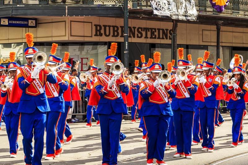 Mardi Gras New Orleans immagini stock