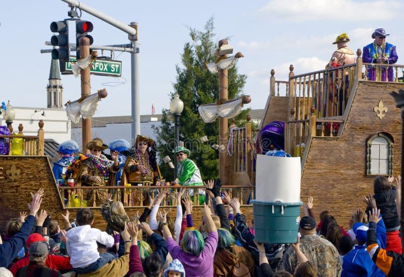 Mardi Gras Parade royalty free stock photos