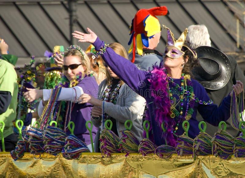 Mardi Gras Parade royalty free stock photo