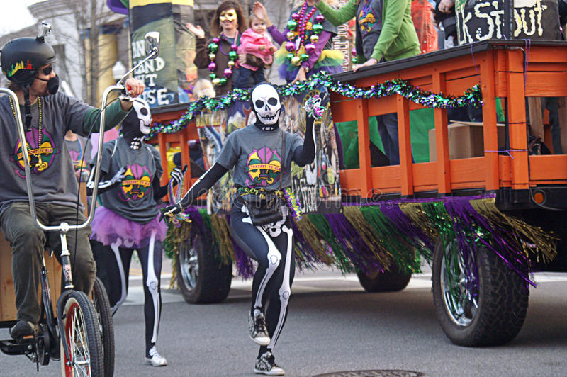 Mardi Gras Parade fotos de stock