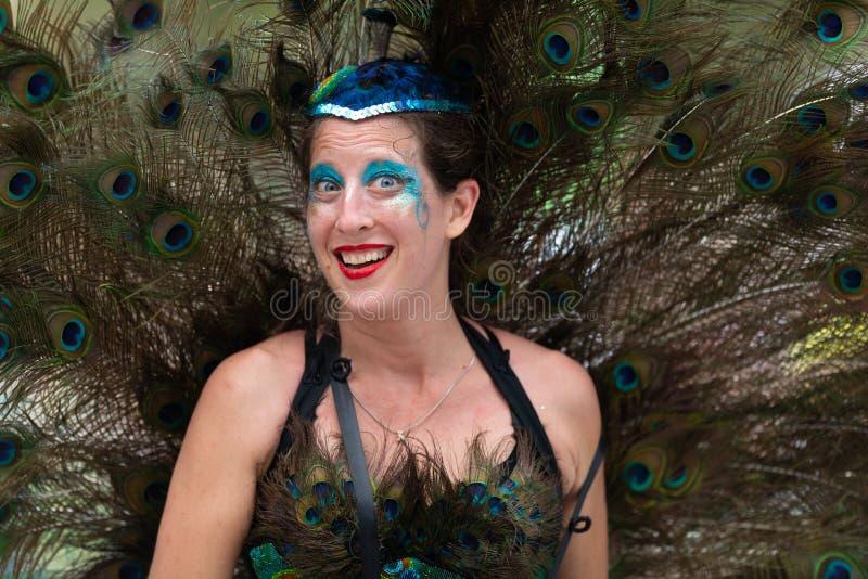 Mardi Gras Parade New Orleans immagine stock libera da diritti