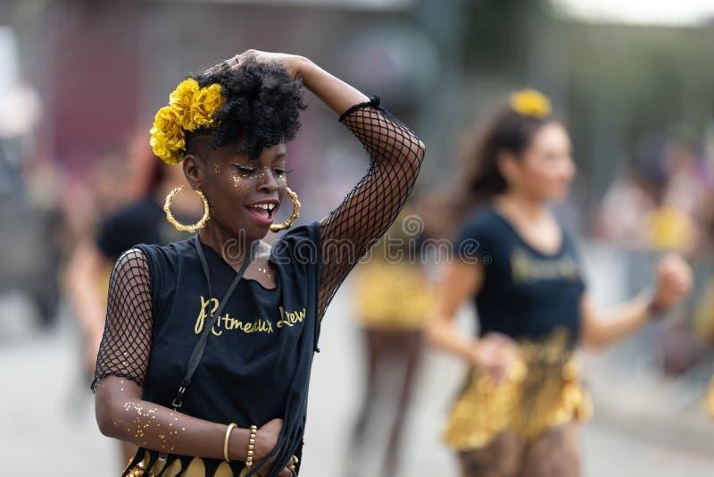 Mardi Gras Parade New Orleans imagens de stock