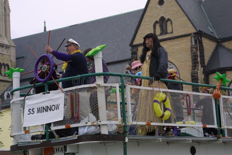 Mardi Gras Soulard Σαιντ Λούις 2019 στοκ φωτογραφίες με δικαίωμα ελεύθερης χρήσης