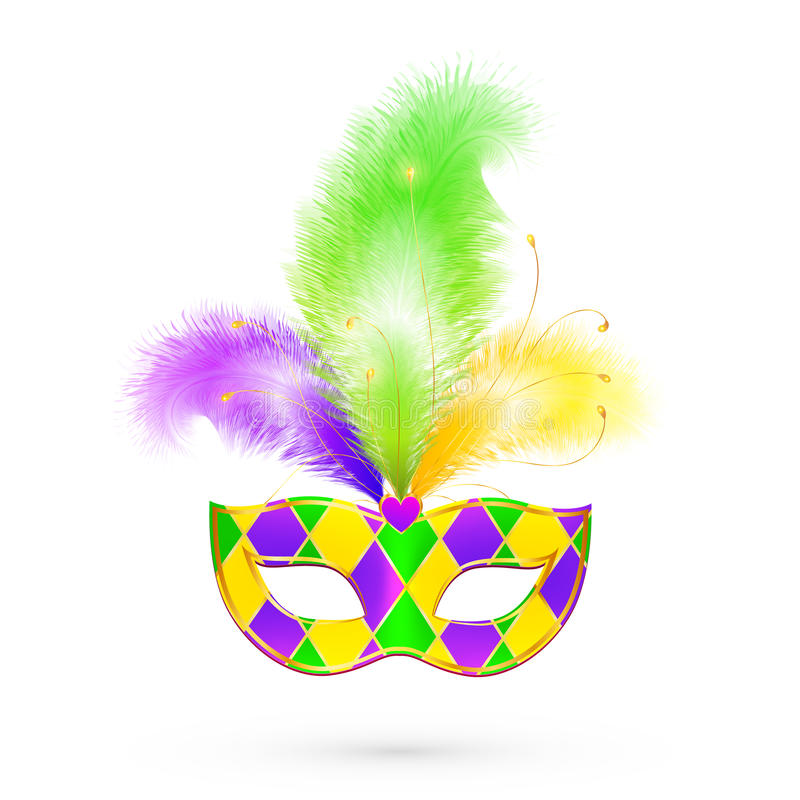 Mardi gras traditional colors vector mask stock vector download mardi gras traditional colors vector mask stock vector illustration of orleans colorful m4hsunfo Images