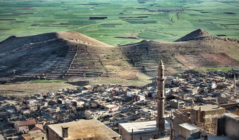 Mardin Turkiet royaltyfria foton