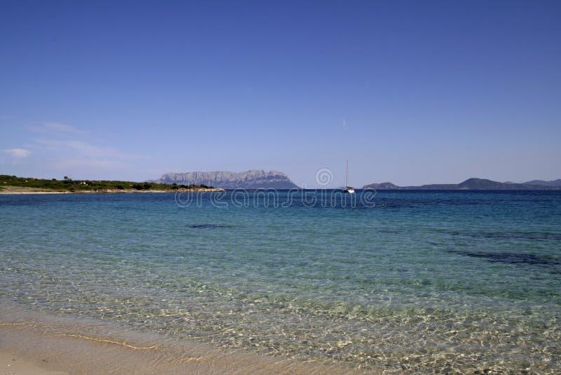 Mare 1 della Sardegna immagini stock libere da diritti