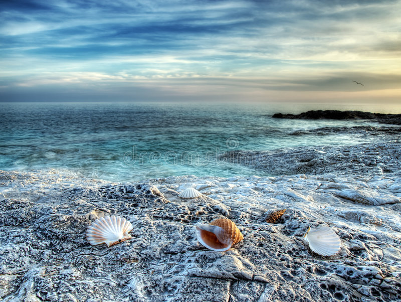 Mare adriatico fotografia stock libera da diritti
