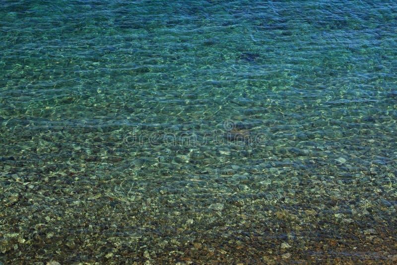 Mare adriatico dell'acqua immagini stock