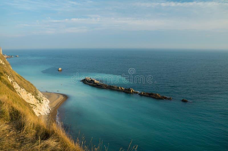 Mare blu pacifico immagine stock